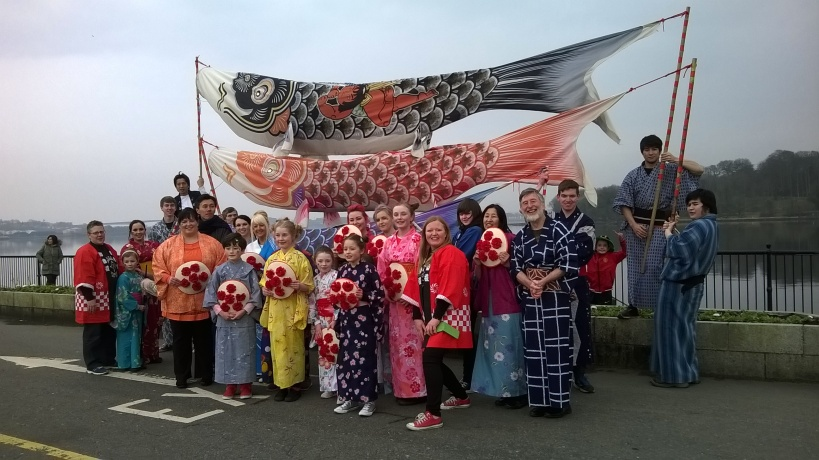 Brightening up Derry, japan style!