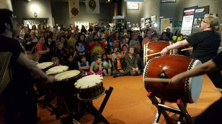 monaghan taiko for culture night 2017